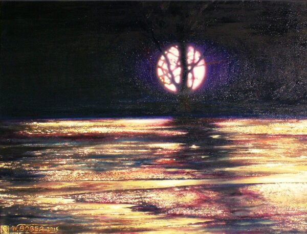 """""""Moonlit II"""" z cyklu Smólskie plenery"""