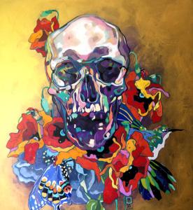 """Dominik Jasiński, """"Skull"""""""