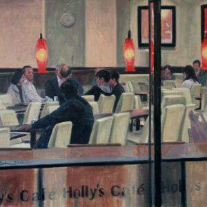 "Holly's Cafe"", Osaka (cykl: JAPANORAMA)"