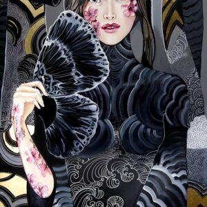 """""""Lady Sakura w objęciach motyla"""""""