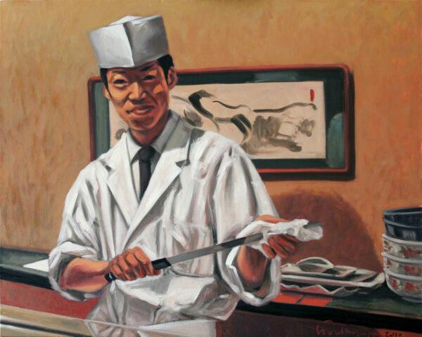 """Mistrz sushi"" (cykl: JAPANORAMA)"