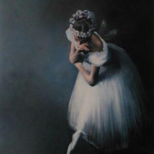 """Sylfida (Primabalerina)"" z baletu La Sylphide z cyklu ""Na scenie"""
