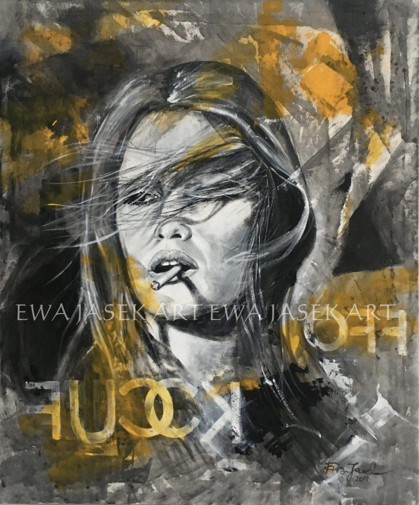 Ewa Jasek painting