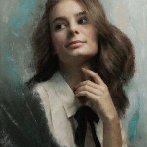 Damian Lechoszest paintigs